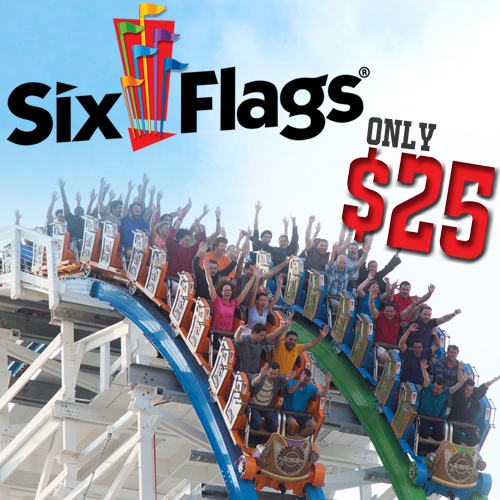 Six Flags – June 13th, 2016